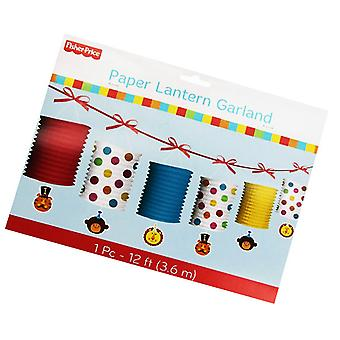 Fisher Price papier lantaarn Garland 12ft