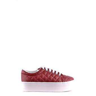 Jeffrey Campbell Ezbc132043 Women's Burgundy Faux Leather Sneakers