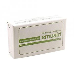 Emuaid Moisture Bar - Soothe & Nourish Troubled Skin - Stimulates Regeneration - Anti Wrinkle Formula - Naturally Exfoliates Dead Skin Cells - 142g