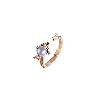 Fable Womens/Ladies Fish Ring