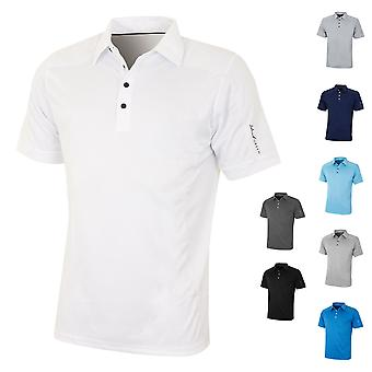 Island Green Mens Golf IGTS1648 Performance Coolpass Polo Shirt
