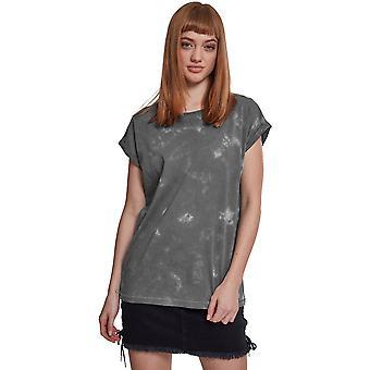 Cotton Addict Womens Batik Dye Short Sleeve Cotton T Shirt