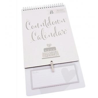 Zajęty B Kalendarz odliczania ślubu