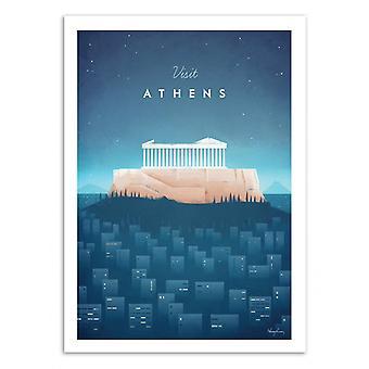 Art-Poster - Visita Atene - Henry Rivers 50 x 70 cm