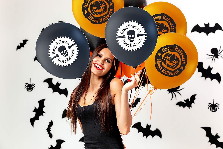 Dekorera ditt Halloween Party med Ballonger - Happy Halloween