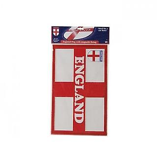 England Flag With Magnetic Fixing 18''x11'' World Cup Football Party