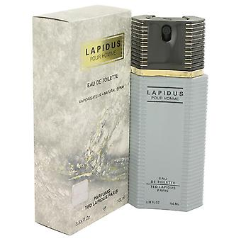 Lapidus eau de toilette spray von ted lapidus 418090 100 ml