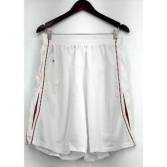 Holloway (XXL) Athletic Elastic Waistband Shorts White Womens