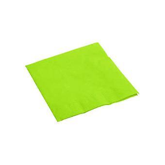 Lime grüne Servietten