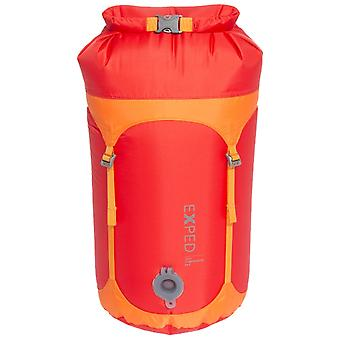 Exped rød 100% vanntett Telecompression bag liten