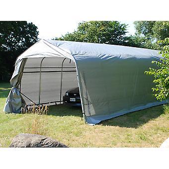 Tenda garage PRO 3,6x8,4x2,68m PE, Grigio