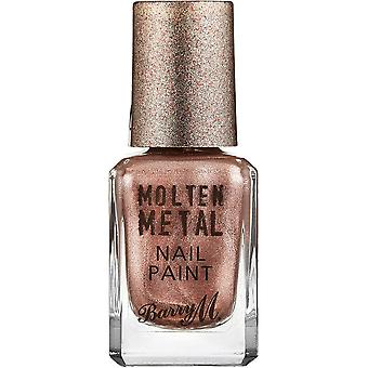 Barry M Molten Metal Nail Polish Collection - Pink Ice (MTNP9) 10ml
