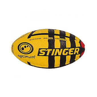 Optimal sport handsydd gummi Stinger ut Rugby Ball-MIDI
