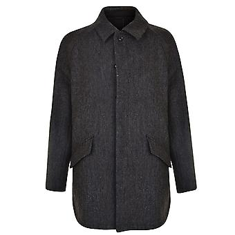 Dkny Mens Herren Button Down Befestigung Wolle Mantel Winter Top Outerwear