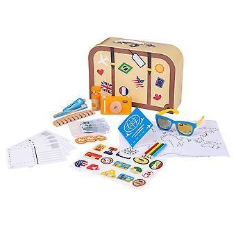 Bigjigs giocattoli bambini finta di giocare vacanza kit-set di Roleplay