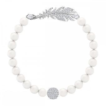Swarovski Nice Pearl Crystal hvit M armbånd 5509723