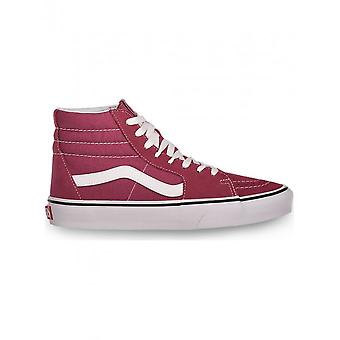 Vans-kengät-Tennarit-SK8-HI_VN0A38GEU641-Unisex-darkmagenta, valkoinen-9