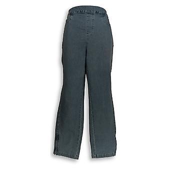 Isaac Mizrahi Live! Women's Jeans 24/7 Denim Ankle Blue A283794