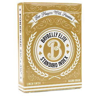 Gold Brybelly Elite Medusa Deck - Wide Size / Reg. Index