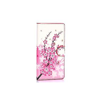 Case For Samsung Galaxy A7 Pattern Japanese Flower