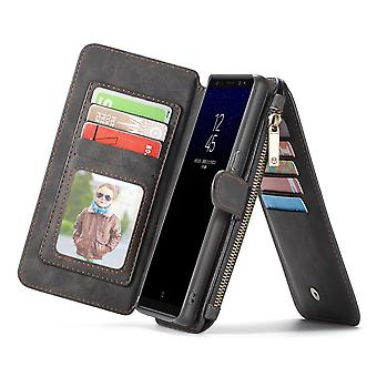 Case For Samsung Galaxy Note 8 Black Multifunction Portfolio