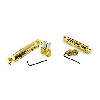 TonePros Locking Usa Fit Tune-o-matic/tailpiece Set (small Posts)