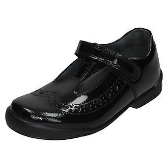 Filles Startrite T-Bar Chaussures d'école Leapfrog