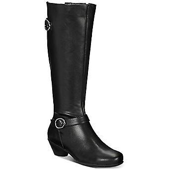 Karen Scott ULEE Wide-Calf Riding Boots Black 7M