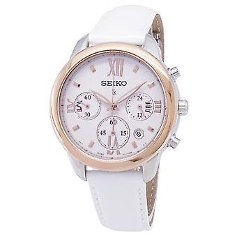 Reloj Seiko Lukia Chronograph Quartz SRWZ84 SRWZ84P1 SRWZ84P Mujer's