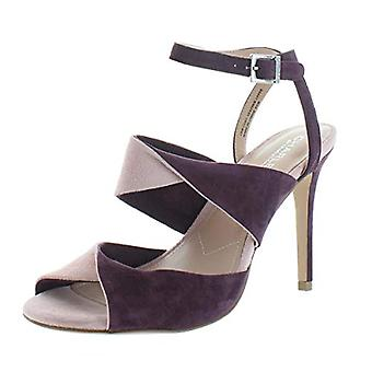 Charles by Charles David Womens radley Suede Peep Toe Casual Ankle Strap Sand...