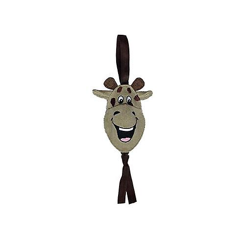 "Petlou Natural Tugger Giraffe 19"" - Dog Toy"