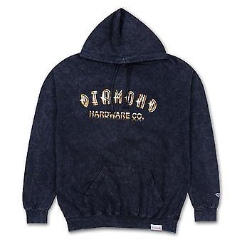 Diamond Supply Co Gold Skull Hoodie Black
