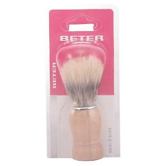 Beter Boar shaving brush, beech wood handle