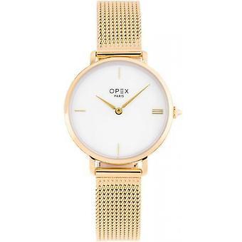 Opex OPW031 Watch - ROTONDE Dor Bo tier Steel Steel Dor Pink Steel Women
