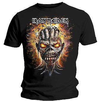 Iron Maiden Eddie Book of Souls Bomb Head Official T-Shirt