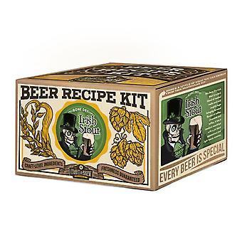Crie uma cerveja - kit de recarga de stout irlandês seco