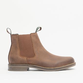 Barbour Farsley heren leren Chelsea Boots Tan