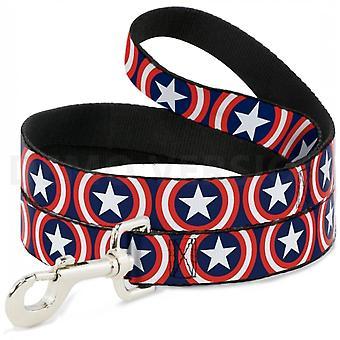 Captain America Logos 4-voet hond riem