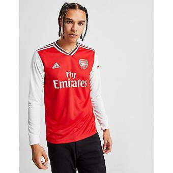 New adidas Men's Arsenal 2019/20 Long Sleeve Home Shirt Red