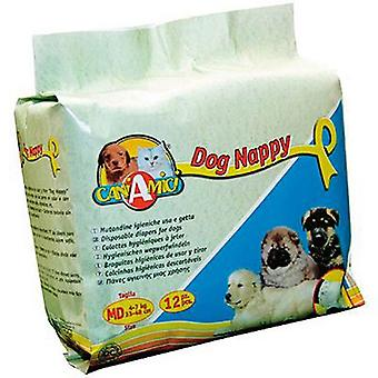 Nayeco Sanitary pads Nappy throwaway Dog Size M (Dogs , Training Aids , Behaviour)