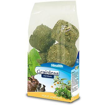 Jr Farm Grainless Health Vital-Blocks Skin And Coat (Small pets , Treats)