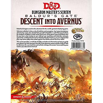 Dungeons & Dragons - Zejście do Avernus - DM Screen Role-Playing Game