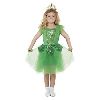 Dievčatá St Patrick ' s Day trblietky rozprávkové šaty kostým