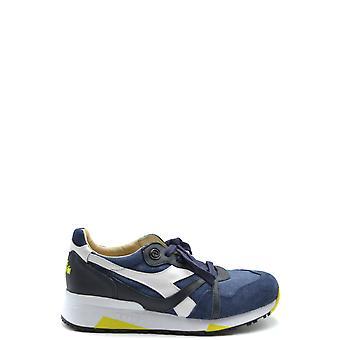 Diadora Ezbc116050 Hombres's Zapatillas de ante azul