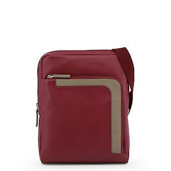Piquadro Original Men All Year Crossbody Bag - Red Color 34064