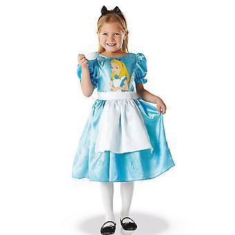 Klassiek Kostuum Alice in Wonderland meisje