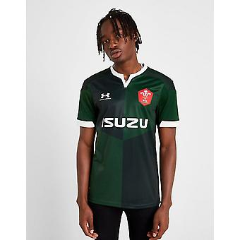 New Under Armour Men's Wales RU 2019/20 Away Shirt Green