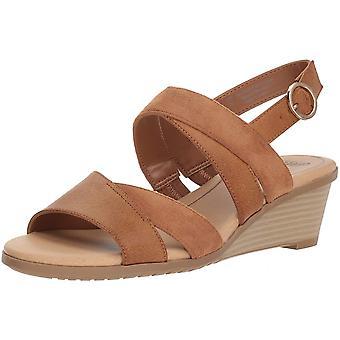 Dr. Scholl's Womens Grace Open Toe Casual Slingback Sandals