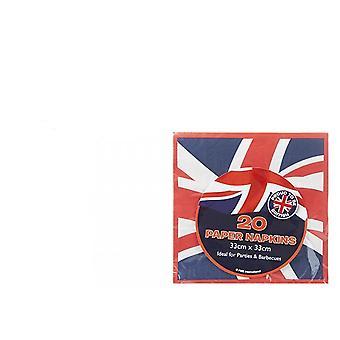 Union Jack Wear Union Jack Napkins
