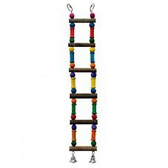 Mgz Alamber Wooden stairs 25X8 Cm (Birds , Bird Cage Accessories , Perches & Posts)